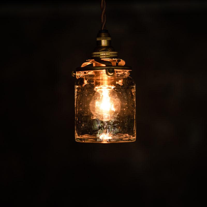 やわい屋 筒瓶 L20 照明オン