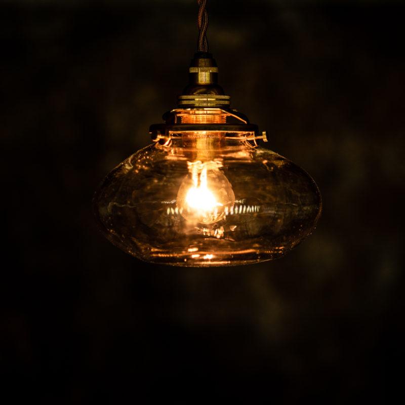 やわい屋 平球 L27 照明オン