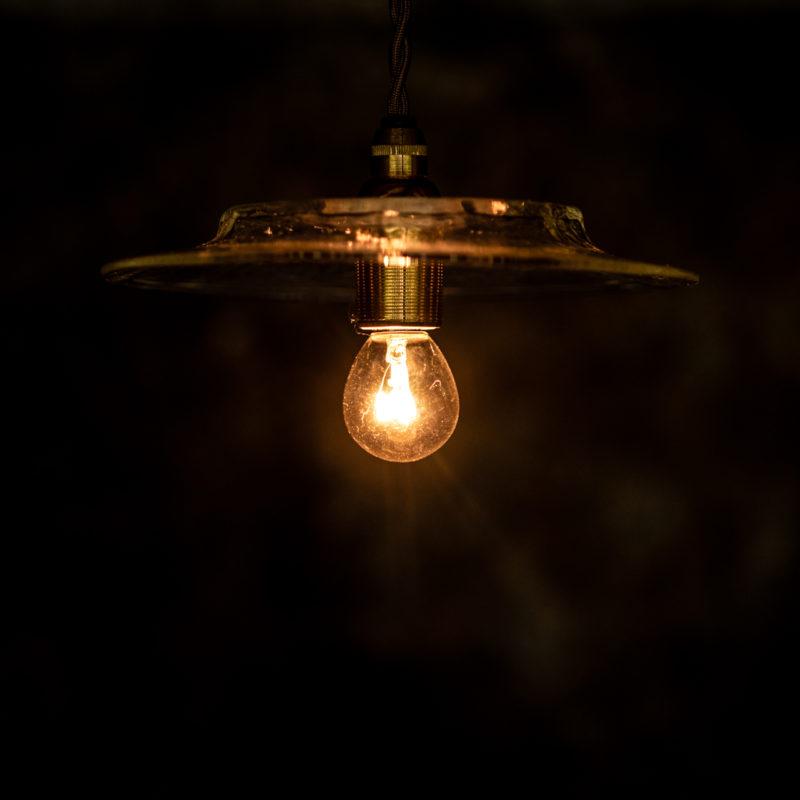 やわい屋 十二角傘平 L29 照明オン
